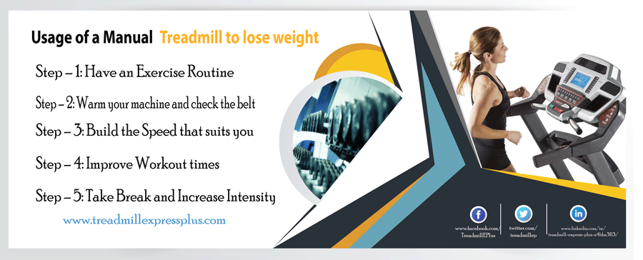 How To Use A Manual Treadmill To Lose Weight Tread Mill Express Plus